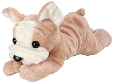 Bulldog Puppy Dog Plush Stuffed Animal - Roxanne