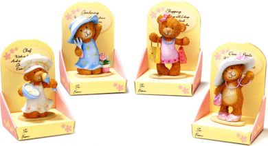 Little Lost Bear Figurines