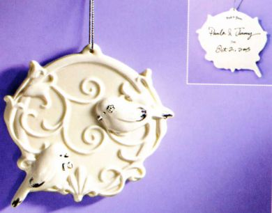 Wedding Birds Ornament